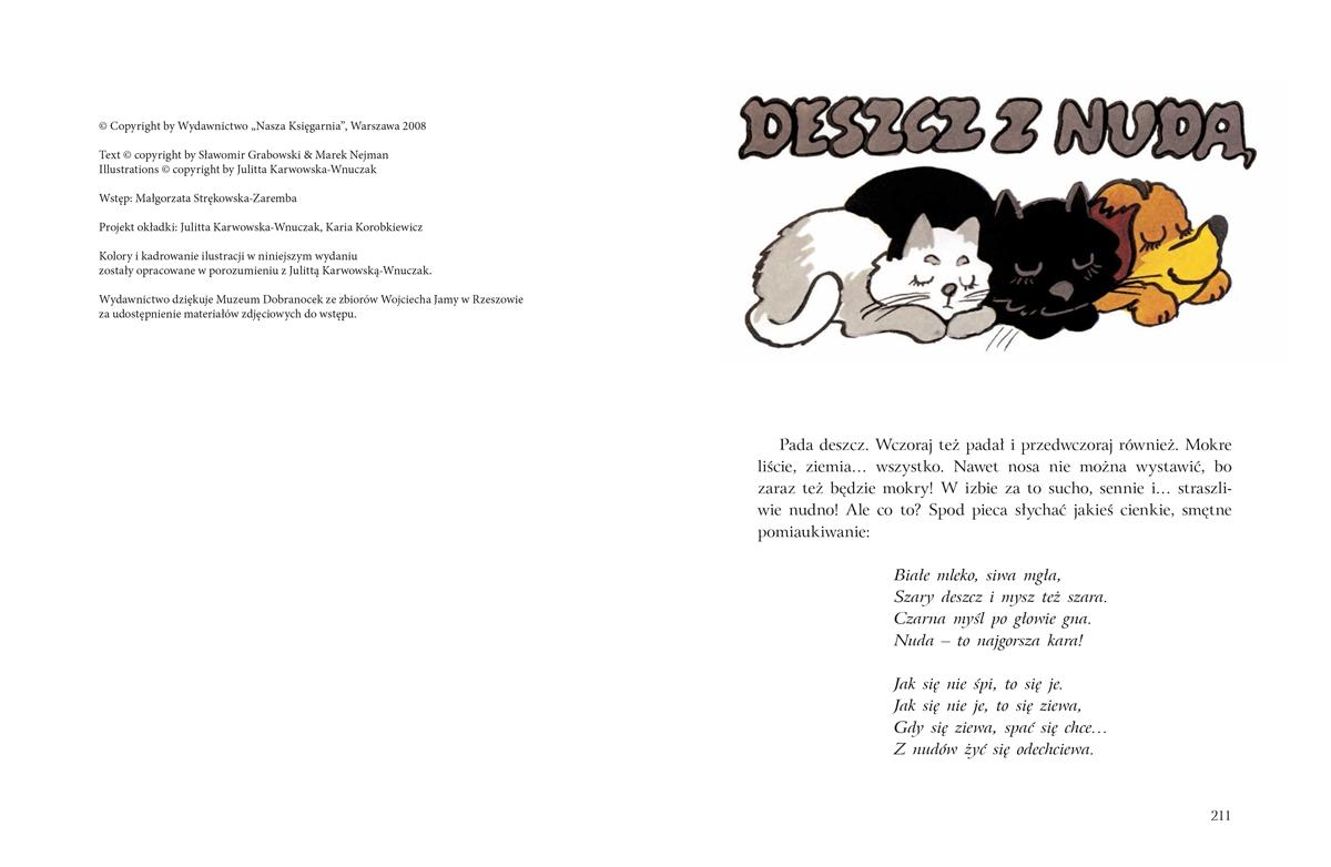 Przygody kota Filemona Grabowski Sławomir, Nejman Marek