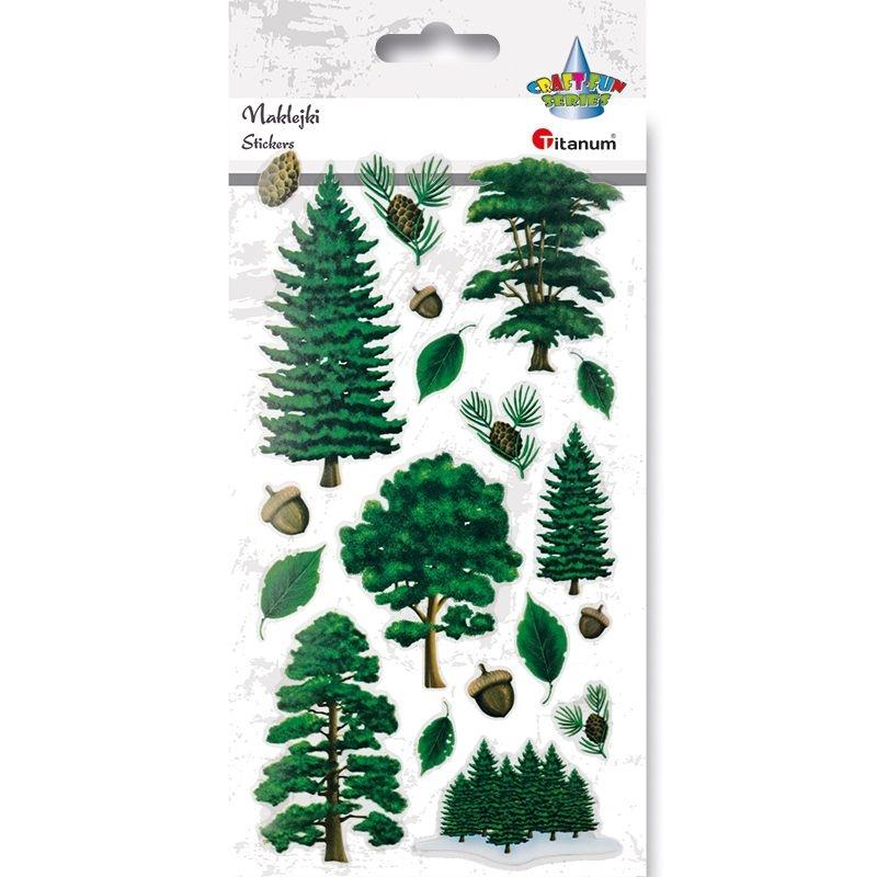 Naklejki dekoracyjne Titanum - drzewa (400350)