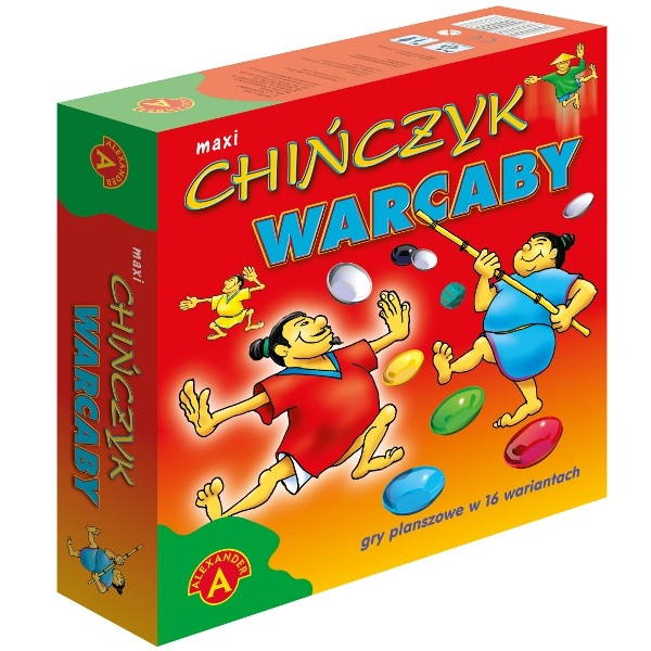 Chińczyk/Warcaby Maxi (0470)