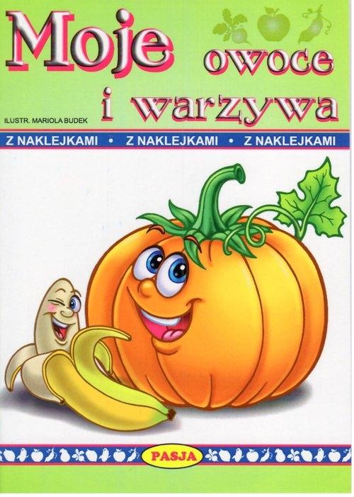 Moje owoce i warzywa (Uszkodzona okładka) Budek Mariola