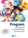 Program wychowania przedszkolnego z terminarzem