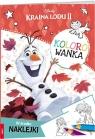 Kraina lodu II. Kolorowanka praca zbiorowa