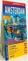 Amsterdam city street map 1:15000 laminat Praca zbiorowa