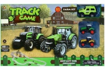 Tor dla pojazdów farma