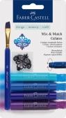 Kredki akwarelowe Faber Castell, odcienie niebieskie (121803)