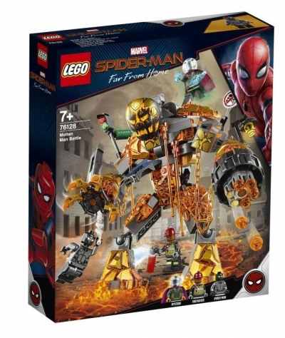 Lego Marvel Super Heroes: Bitwa z Molten Manem (76128)