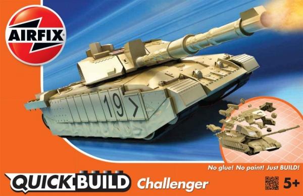 Model Quickbuild Challenger Tank Desert (j6010)