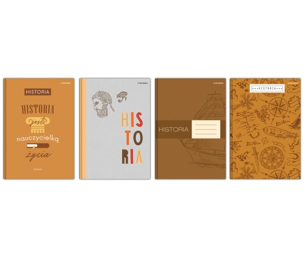 Brulion Top 2000 A5/80k, kratka z marginesem - Historia (400152071)