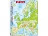 Puzzle Europa  mapa fizyczna 87
