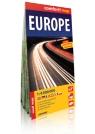 Europa / Europe laminowana mapa samochodowa 1:4 000 000 praca zbiorowa