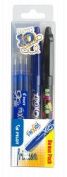 Zestaw Pilot Frixion ball niebieski +wkłady niebieskie + ball limited