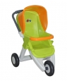 Wózek dla lalek spacerowy 3-kołowy zielony