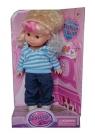 Lalka Fashion Doll niebieska bluza 26 cm