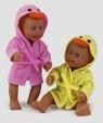 Lalka bobas Little Bathtime 25 cm żółta