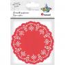 Serwetki papierowe okrągłe 11,5cm/35 szt. - czerwone