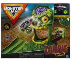Monster Jam - Zestaw wyczynowy: Zombie Madness + Superterenówka Zombie