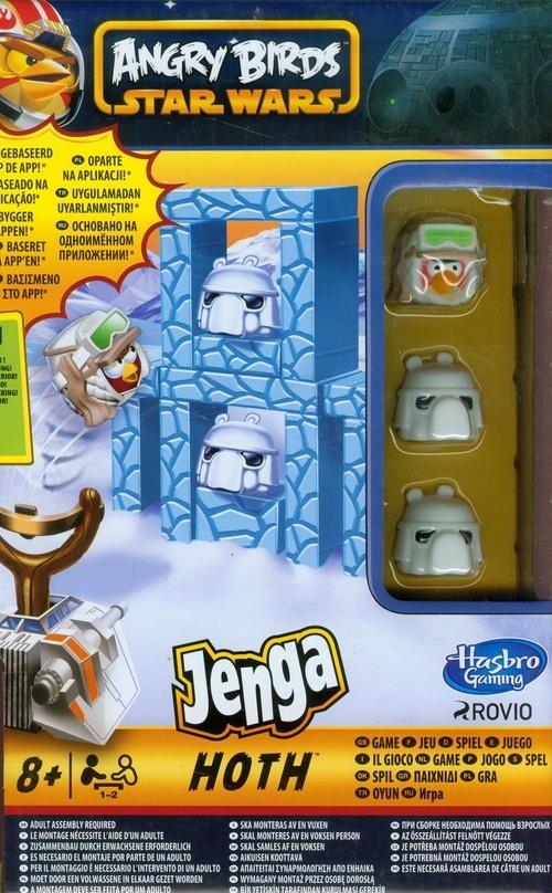 Star Wars Angry Birds Jenga Hoth