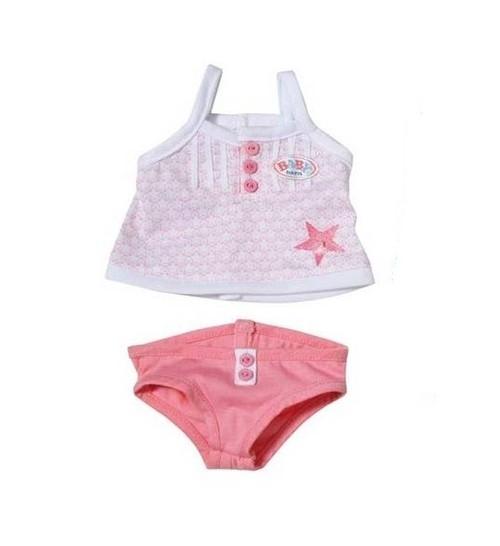 Ubranko dla lalki Baby born Underwear Collection Bielizna różowa