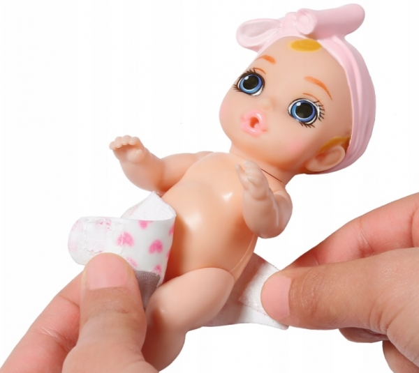 Baby born: Siusiająca laleczka w paczuszce niespodziance (904077)
