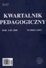 Kwartalnik pedagogiczny nr 1/2008