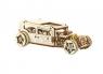 Drewniany zestaw mechaniczny Hot Rod
