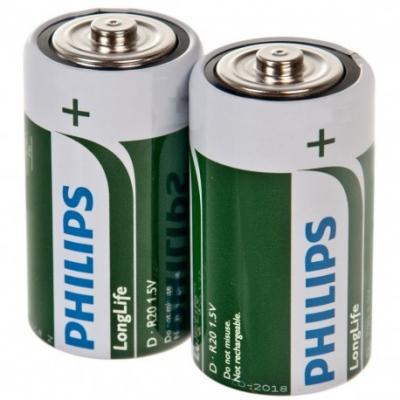 Bateria Philips Long Life R20 2/t