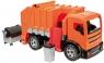 Śmieciarka lena pomarańczowa 2 osie w kartonie (02166)