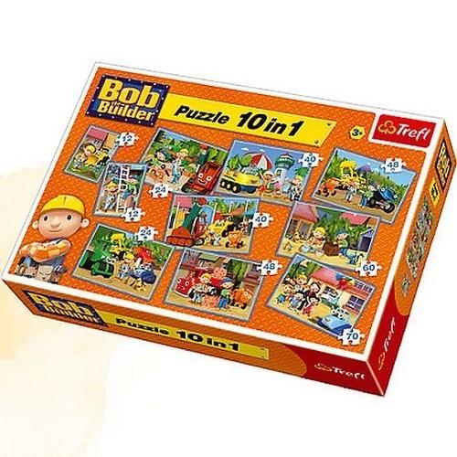 Bob Budowniczy Puzzle 10w1 (90170)