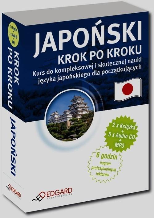 Japoński Krok po kroku + 5CD + MP3 Poziom A1-B1