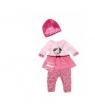 Ubranko dla lalek Baby born Classic City Style różowe