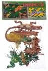 Zwierzęta plastikowe owady/płazy 24x40 340513