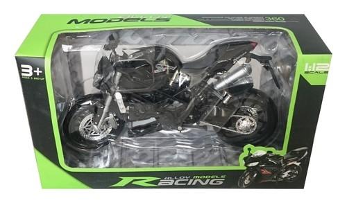 Motocykl czarny 1:12