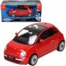 WELLY Fiat 500 2007, czerwony (WE22514)