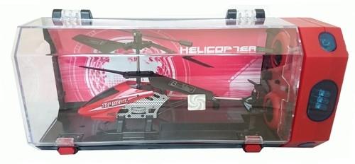 Helikopter zdalnie sterowany 3,5 kanałowy 18cm czerwony