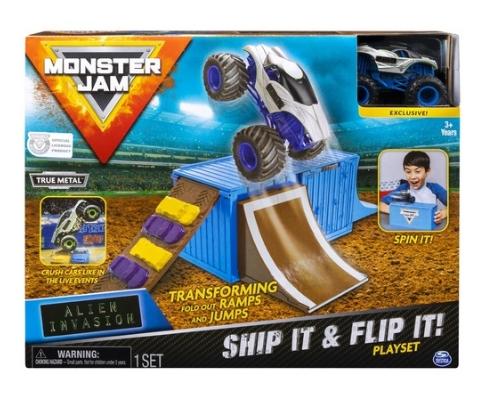 Monster Jam - Zestaw Wyczynowy: Ship it & Flip it (6045029/20106780)