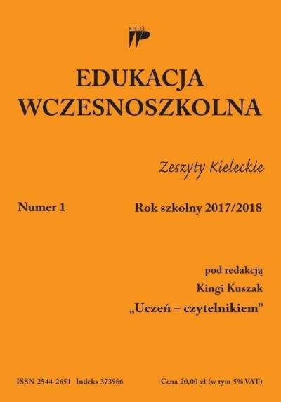 Edukacja wczesnoszkolna nr 1 2017/2018 praca zbiorowa
