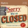 Kalendarz 2018 30x30 Retro HELMA