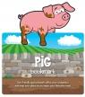 Zwierzęca zakładka do książki - Świnia
