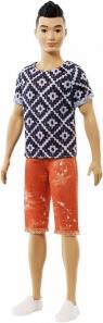 Lalka Barbie Fashionistas Stylowy Ken Boho Hip (DWK44/FXL62)