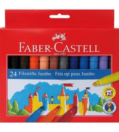 Flamastry Faber Castell Jumbo 24 kolory (554324)