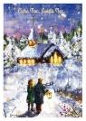 Karnet B6 Boże Narodzenie Kościółek