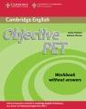 Objective PET Workbook without answers Hashemi Louise, Thomas Barbara