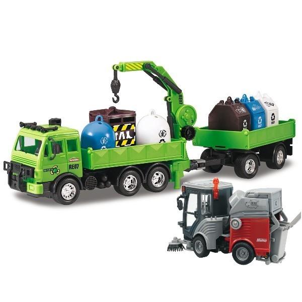DICKIE Zest. Ciężarówka + Zamiatarka