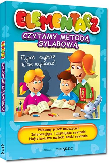 Elementarz - czytamy metodą sylabową Alicja Karczmarska-Strzebońska