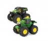 John Deere traktor monster dwupak TOMY