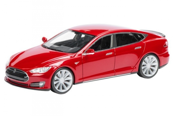 TESLA Model S (red)