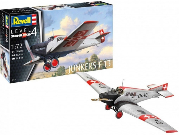 Model do sklejania Junkers F.13 (03870)