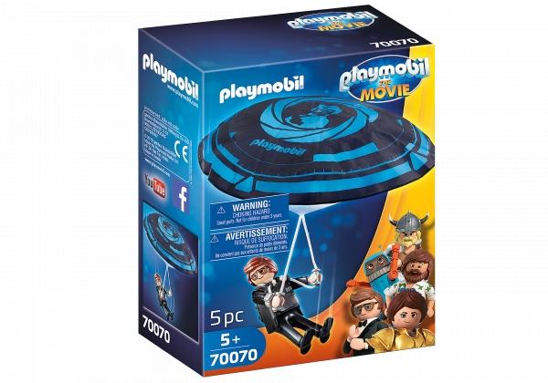 PLAYMOBIL: The Movie Rex Dasher ze spadochronem (70070)