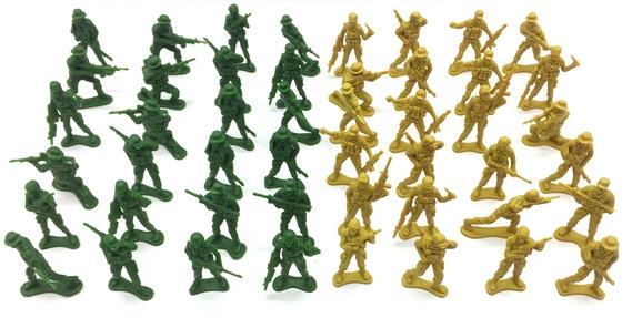 Zestaw żołnierzyków - 48 szt. (111704)