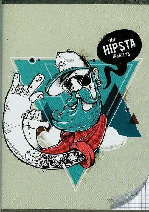 Zeszyt A5 w kratkę 96 kartek Hipsta